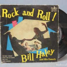 Discos de vinilo: EP. BILL HALEY AND HIS COMETS. ROCK AND ROLL. THE BEAK SPEAKS. Lote 138559490