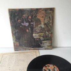 Discos de vinilo: GOLPES BAJOS - SANTA COMPAÑÍA - LP NUEVOS MEDIOS 1984 CON ENCARTE CANCIONES. Lote 140153334