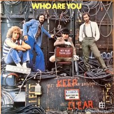 Discos de vinilo: THE WHO : WHO ARE YOU [ESP 1978] LP/RE. Lote 138560946