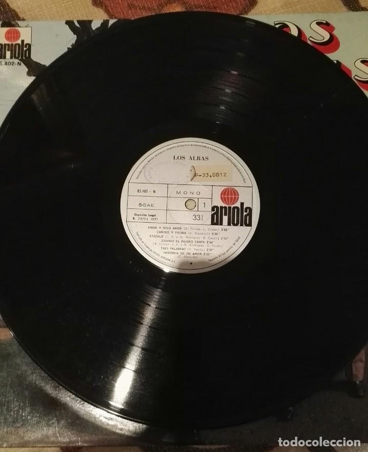 Discos de vinilo: lp los albas ariola 12 temas - Foto 3 - 138570170