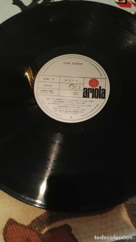 Discos de vinilo: lp los albas ariola 12 temas - Foto 4 - 138570170