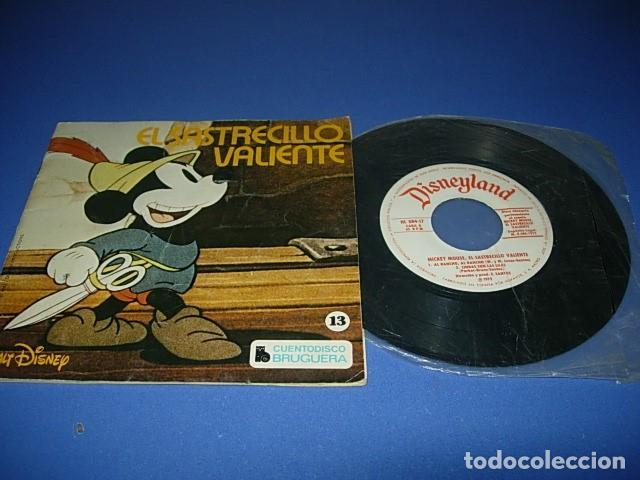 EL SASTRECILLOS VALIENTE DE COLECCIÓN CUENTODISCO BRUGUERA CUENTO WALT DISNEY (Música - Discos de Vinilo - EPs - Música Infantil)