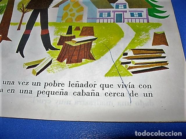 Discos de vinilo: HANSEL Y GRETEL DE COLECCIÓN CUENTODISCO BRUGUERA CUENTO WALT DISNEY - Foto 4 - 138577762