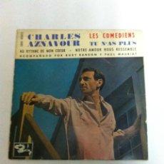 Disques de vinyle: CHARLES AZNAVOUR - 6 DISCOS. Lote 138585154