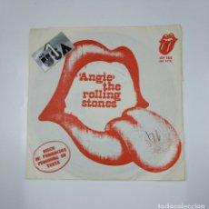 Discos de vinilo: ANGIE. THE ROLLING STONES. DISCO DE PROMOCION. SINGLE. TDKDS12. Lote 138595326
