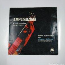 Discos de vinilo: MANUEL CUBEDO. GUITARRA SOLISTA. LOS CUATRO MULEROS. A UNOS OJOS. SINGLE AMPLISOZIMA. TDKDS12. Lote 138602354