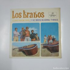 Discos de vinilo: LOS BRAVOS. - COMO NADIE MAS / I'VE BEEN HEARING THINGHS - SINGLE. TDKDS12. Lote 138603802