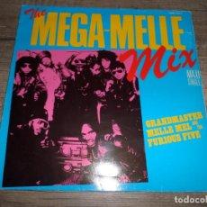 Discos de vinilo: GRANDMASTER MELLE MEL AND THE FURIOUS FIVE - THE MEGA-MELLE MIX. Lote 138606298