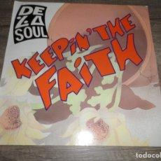 Discos de vinilo: DE LA SOUL - KEEPIN' THE FAITH. Lote 138606778