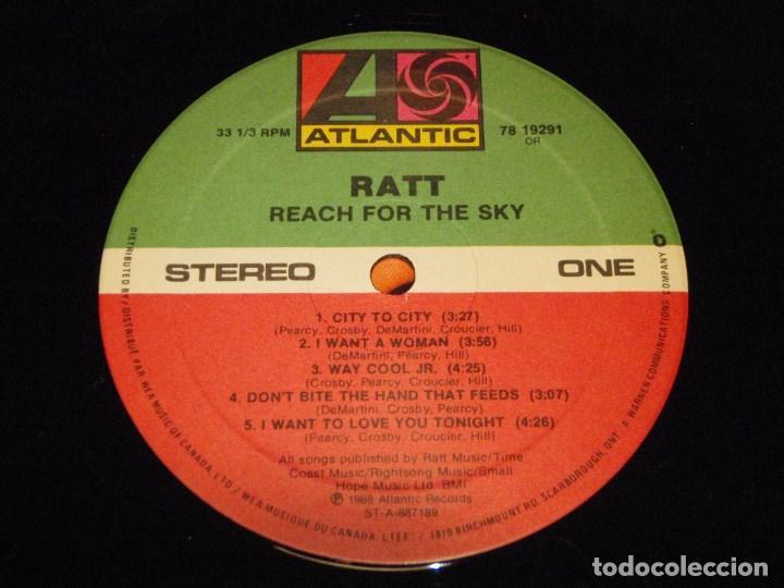 Discos de vinilo: RATT - REACH FOR THE SKY CANADA - 1988 LP ATLANTIC - Foto 6 - 138608726