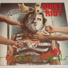 Discos de vinilo: QUIET RIOT ( CONDITION CRITICAL ) 1984 - HOLANDA LP33 EPIC. Lote 138610058