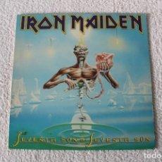 Discos de vinilo: IRON MAIDEN: SEVENTH SON OF A SEVENTH SON - LP. EMI 1988 (CON ENCARTE) 4509 - 92729 - 1. Lote 138611422