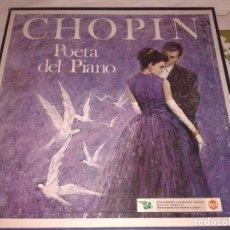 Discos de vinilo: 4 LPS CHOPIN POETA DEL PIANO 1968. Lote 138613690