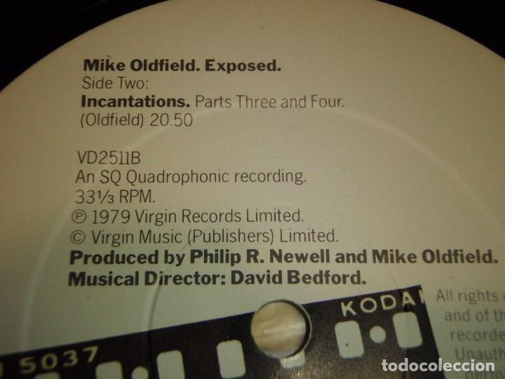 Discos de vinilo: MIKE OLDFIELD ( EXPOSED ) DOBLE LP33 ENGLAND -1979 VIRGIN RECORDS - Foto 4 - 138615130