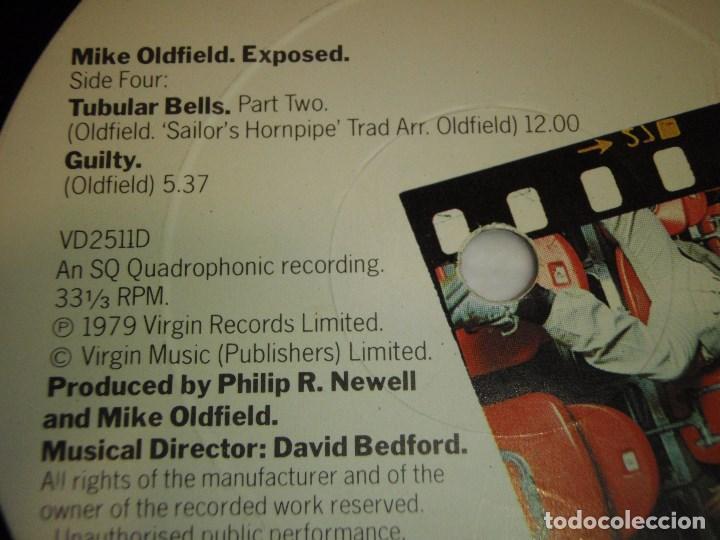Discos de vinilo: MIKE OLDFIELD ( EXPOSED ) DOBLE LP33 ENGLAND -1979 VIRGIN RECORDS - Foto 6 - 138615130