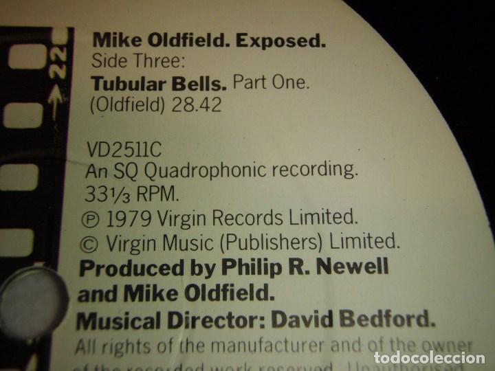 Discos de vinilo: MIKE OLDFIELD ( EXPOSED ) DOBLE LP33 ENGLAND -1979 VIRGIN RECORDS - Foto 7 - 138615130