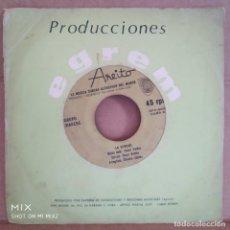 Discos de vinilo: GRUPO IRAKERE CON RAÚL, ÓSCAR Y CHUCHO VALDÉS/ SINGLE ( 2* VERSION )LA VERDAD/ QUINDIAMBO. Lote 138624790
