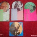 Discos de vinilo: PAUL Y LINDA MCCARTNEY/ 4 PÍCTURE DISCS /ORIGINALES INGLESES /SIN ESTRENAR. Lote 138628598