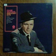 Discos de vinilo: FRANK SINATRA - GREATEST HITS, 1970, CAPITOL. FRANCE. Lote 138645550