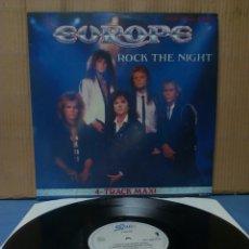 Discos de vinilo: EUROPE - ROCK THE NIGHT 1986 ND EP. Lote 138648277