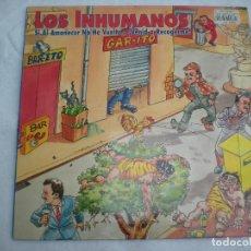 Discos de vinilo: LOS INHUMANOS_SI AL AMANECER NO HE VUELTO... ¡VENID A RECOGERME! VINILO LP 12'' COMO NUEVO!!!. Lote 138652030