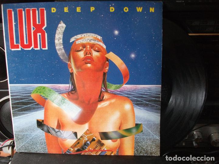 LUX DEEP DOWN MAXI 1990 (Música - Discos de Vinilo - Maxi Singles - Disco y Dance)