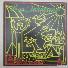 Discos de vinilo: LOS INHUMANOS_ANA / VERANO INHUMANO_MINI LP 12'' EDICIONES MILAGROSAS_1984 COMO NUEVO!!!. Lote 138659122