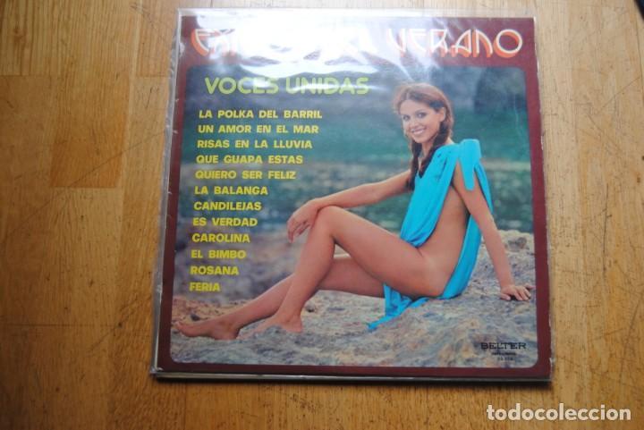 VOCES UNIDAS. ÉXITOS DEL VERANO. BELTER 1975. BUENO. LP SEXY COVER (Música - Discos - LP Vinilo - Grupos Españoles de los 70 y 80)