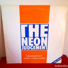 Discos de vinilo: THE NEÓN JUDGEMENT - THE FASHION PARTY (OLD GOLD). Lote 138675482