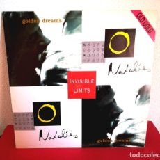 Discos de vinilo: INVISIBLE LIMITS - GOLDEN DREAMS (OLD GOLD). Lote 138676938