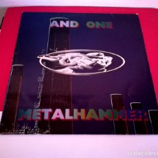 Discos de vinilo: AND ONE - METAL HAMMER (MAKINARIA RECORDS). Lote 138677422