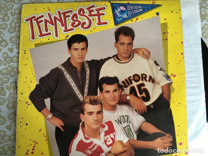LP TENNESSEE-UNA NOCHE EN MALIBU (Música - Discos - LP Vinilo - Grupos Españoles de los 90 a la actualidad)