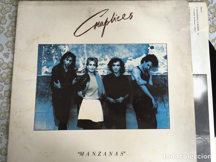LP COMPLICES-MANZANAS (Música - Discos - LP Vinilo - Grupos Españoles de los 90 a la actualidad)