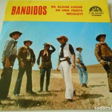 Discos de vinilo: CONJUNTO KOKO´S 6, EP, BANDIDOS + 3, AÑO 1972. Lote 138681550