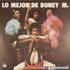 Discos de vinilo: BONEY M - LO MEJOR DE BONEY M. - LP ARIOLA EURODISC SPAIN. Lote 206551150