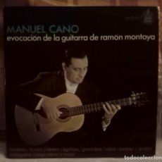 Discos de vinilo: MANUEL CANO. Lote 138686342