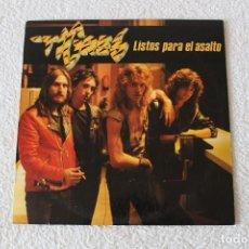 Discos de vinilo: TIGRES: LISTOS PARA EL ASALTO - LP. RCA VICTOR 1984. Lote 138688486