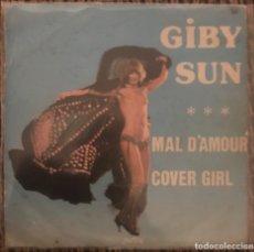 """Discos de vinilo: GIBY SUN """"MAL D'AMOUR"""" """"COVER GIRL"""" ZARTOS 1977 DISCO FUNK SPAIN MUY RARO LISTEN. Lote 138696426"""