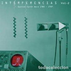 Discos de vinilo: VARIOUS - INTERFERENCIAS VOL. 2 - SPANISH SYNTH WAVE 1980-1989 - 2XLP. Lote 138696570