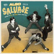Discos de vinilo: VARIOUS - ALGO SALVAJE - UNTAMED 60S BEAT AND GARAGE NUGGETS FROM SPAIN VOL.2 - 2XLP. Lote 138699298