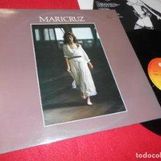 Discos de vinilo: MARICRUZ MARI CRUZ LP 1980 CBS LEYVA+MIRALLES+COBOS. Lote 138699758