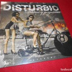 Discos de vinilo: DISTURBIO DAÑOS Y PERJUICIOS LP 2011 BAGA BIGA PUNK ROCK NACIONAL PRECINTADO NUEVO. Lote 138700638