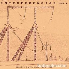Discos de vinilo: VARIOUS - INTERFERENCIAS VOL. 1 - SPANISH SYNTH WAVE 1980-1989 - 2XLP. Lote 138702378
