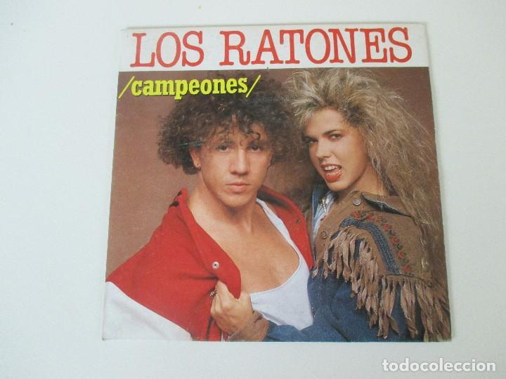 LOS RATONES CAMPEONES/ LA CHICA YE YE FONOMUSIC 1990 (Música - Discos - Singles Vinilo - Grupos Españoles de los 70 y 80)