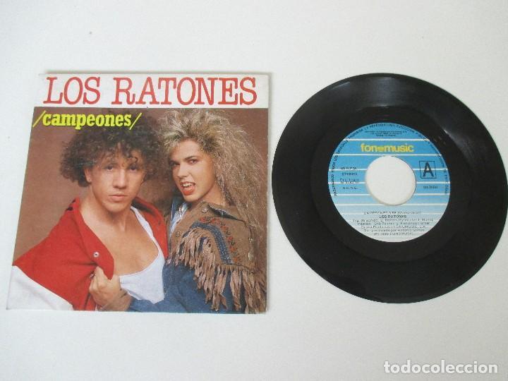 Discos de vinilo: LOS RATONES CAMPEONES/ LA CHICA YE YE FONOMUSIC 1990 - Foto 3 - 138707618