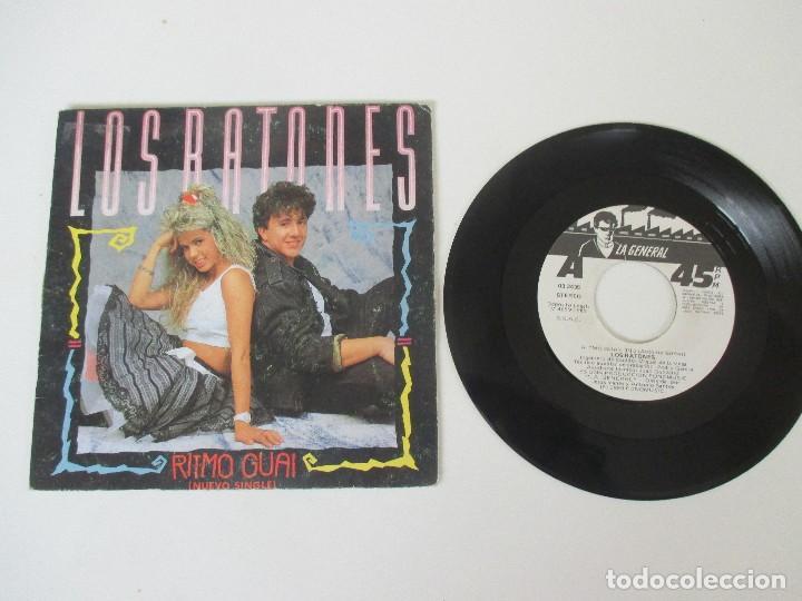 Discos de vinilo: LOS RATONES RITMO GUAI/ MAS FIESTAS FONOMUSIC 1989 - Foto 3 - 138708690
