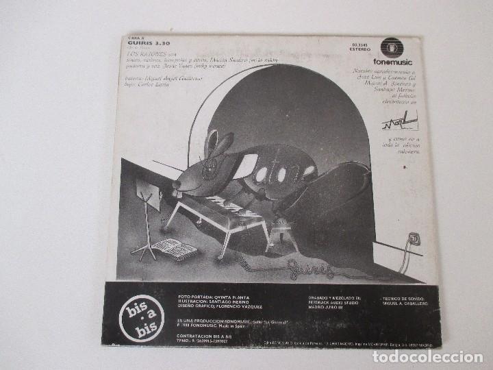 Discos de vinilo: LOS RATONES GUIRIS FONOMUSIC 1988 - Foto 2 - 138709086