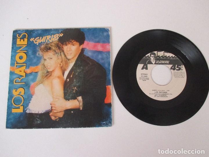 Discos de vinilo: LOS RATONES GUIRIS FONOMUSIC 1988 - Foto 3 - 138709086