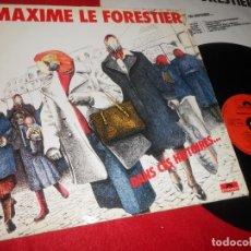 Discos de vinilo: MAXIME LE FORESTIER DANS CES HISTOIRES... LP 1981 POLYDOR EDICION FRANCESA FRANCE. Lote 138715730