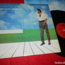 Discos de vinilo: MAXIME LE FORESTIER LP 1983 POLYDOR EDICION FRANCESA FRANCE. Lote 138715786